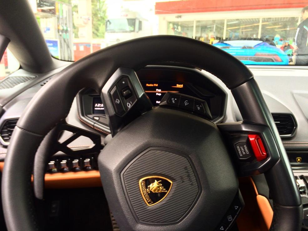Lamborghini Huracan Innenraum Lenkrad