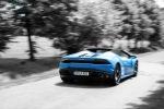 Lamborghini Huracan Blau Mitzieher Wallpaper