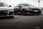 Audi R8 und Nissan GTR JP Performance Sport 1 Trackday