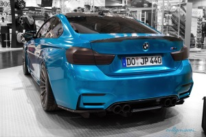 BMW M4 JP Performance altes Design Essen Motor Show hinten
