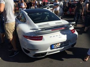 Porsche 991 Turbo JP Performance hinten