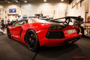 Lamborghini Aventador JP Performance hinten