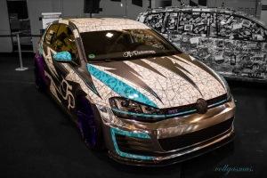 VW Golf GTI JP Performance Seite Essen Motor Show