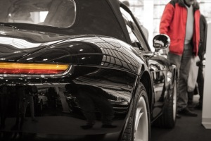 BMW Z8 auf der Retro Classics Bavaria Nürnberg
