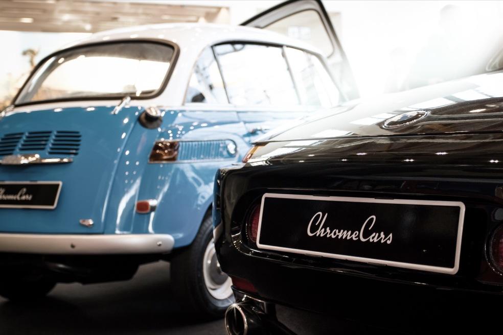 BMW Z8 und BMW Isetta auf der Retro Classics Bavaria 2016
