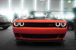 Dodge Challenger Hellcat am Geiger Cars Stand