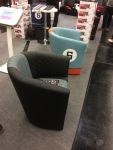 Mehr Sessel im Porsche Design auf der Retro Classics Bavaria Messe