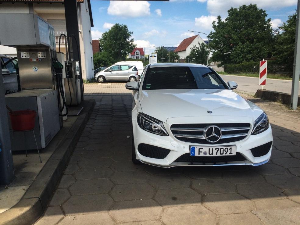 Unser Mercedes C200