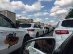 Mercedes Kolonne Norisring Zufahrt