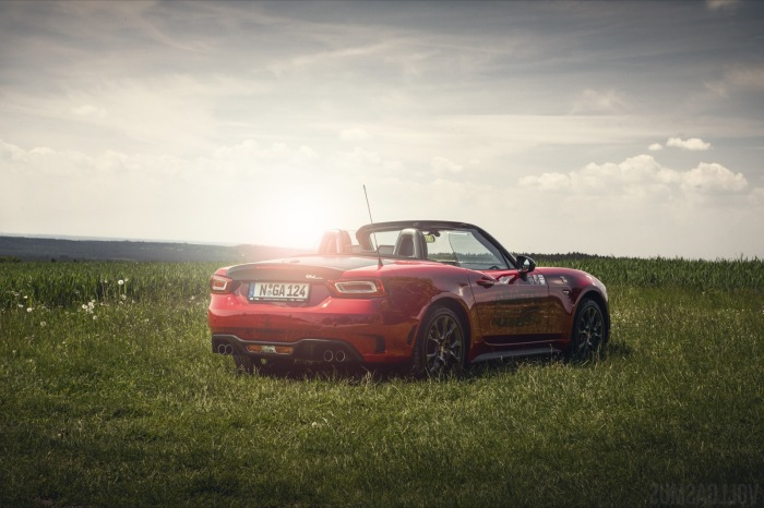 Abart 124 Spider hinten Wallpaper