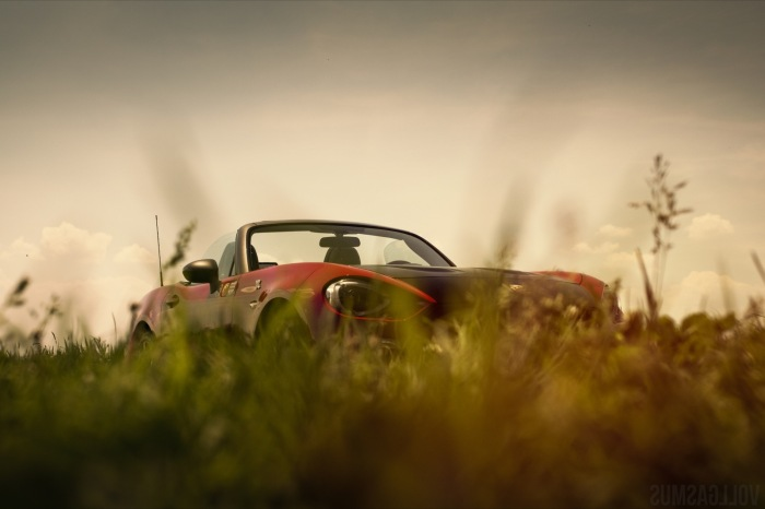 Abarth 124 Spider Gras Wallpaper