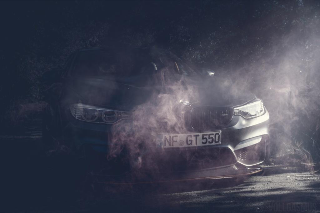 BMW M4 GTS Rauch Wallpaper