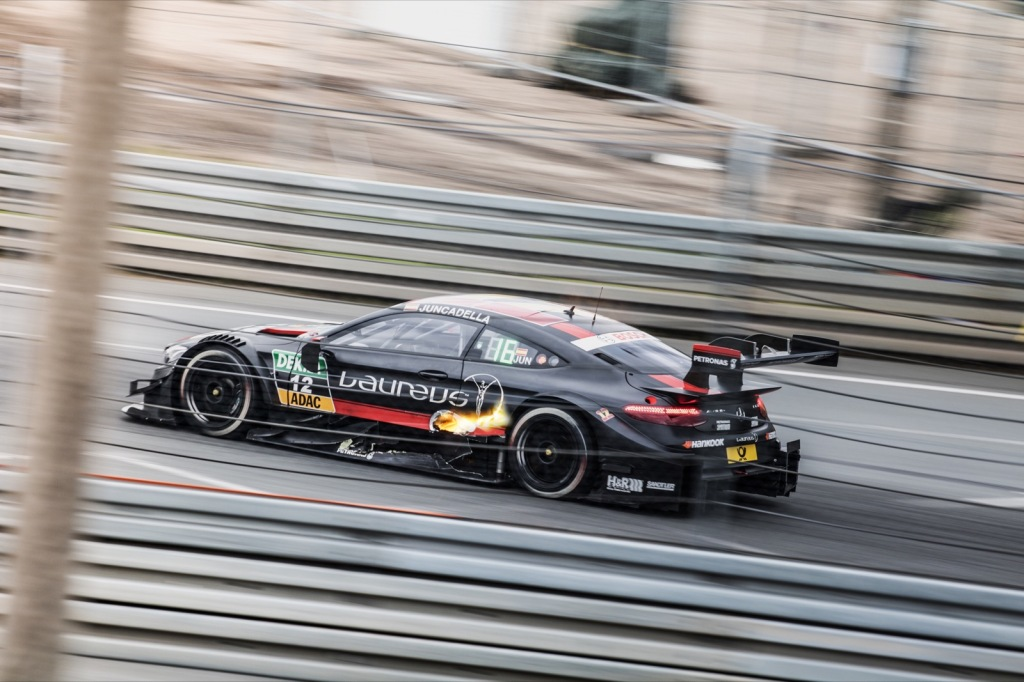 Mercedes C63 AMG DTM Coupe Daniel Juncadella Norisring Flammen