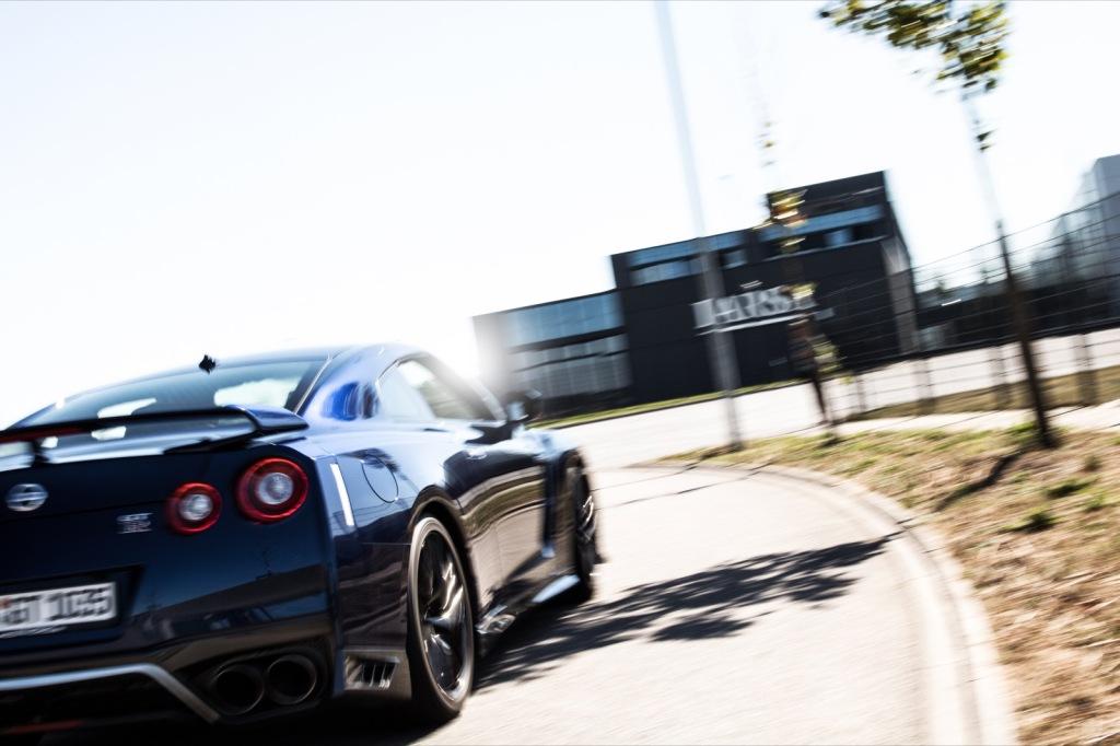 Neuer Nissan GTR 2016 dynamisch Wallpaper