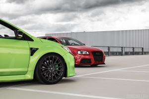 Ford Focus RS und Audi RS3 Tuning Wallpaper