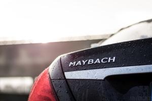 Mercedes Maybach S500 Schriftzug Sonnenaufgang Wallpaper