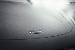 McLaren 650S vorne Detail Regentropfen Wallpaper